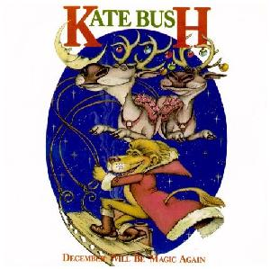The cover for December Will Magic Again, Kate Bush