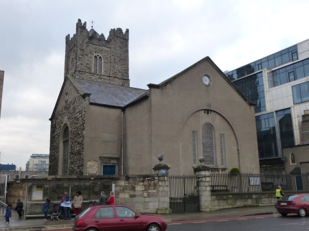 The church of St Michan's