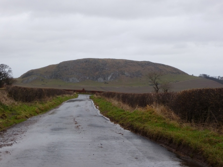 Traprain Law from the south