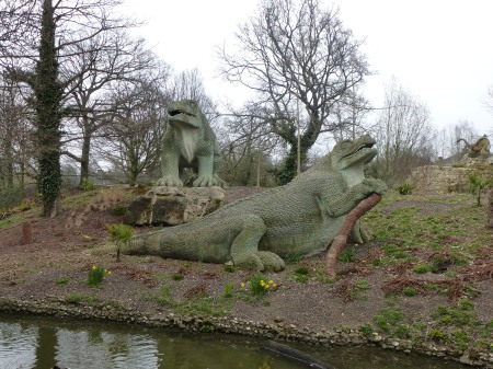 The Iguanadons,  Crystal Palace Park