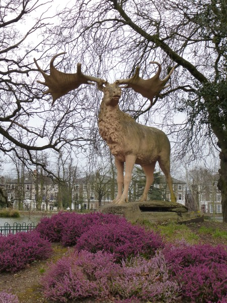 A mighty Megaloceros, Crystal Palace Park