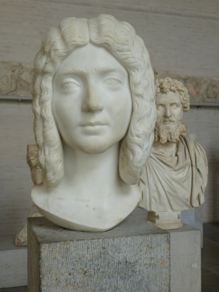 Portraits of Empress Julia Domna and Emperor Septimius Severus in the Glyptothek, Munich