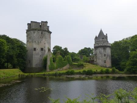 The castle of Largoët