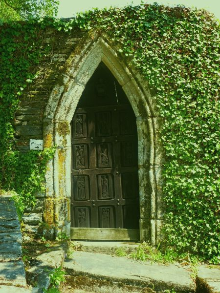 A magical doorway, Rochefort-en-Terre