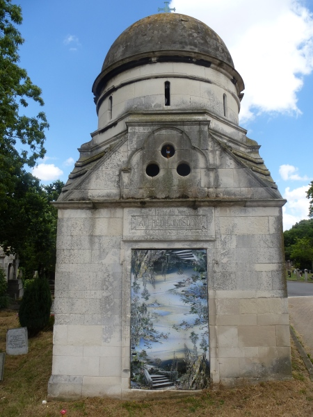 Jane Ward's contribution to Curious at West Norwood Cemetery