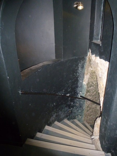 The stairs down to the Shell Grotto, Margate