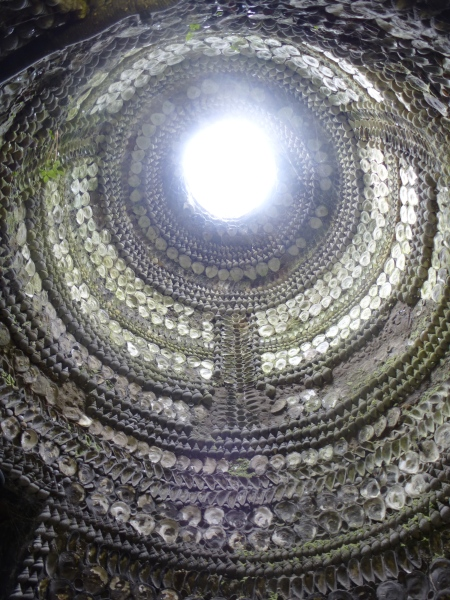 The central dome, Margate Shell Grotto