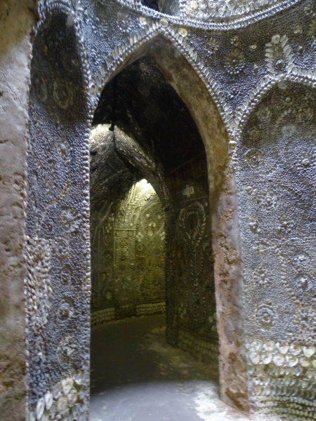 Inside the Shell Grotto, Margate