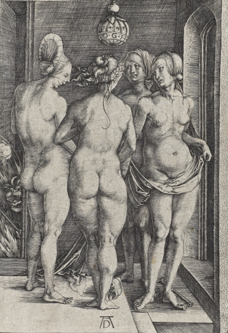 The Four Witches, Albrecht Dürer, 1497