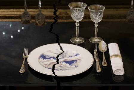 The cracked dining table, Tomorrow All images courtesy of the artists and Victoria Miro, London