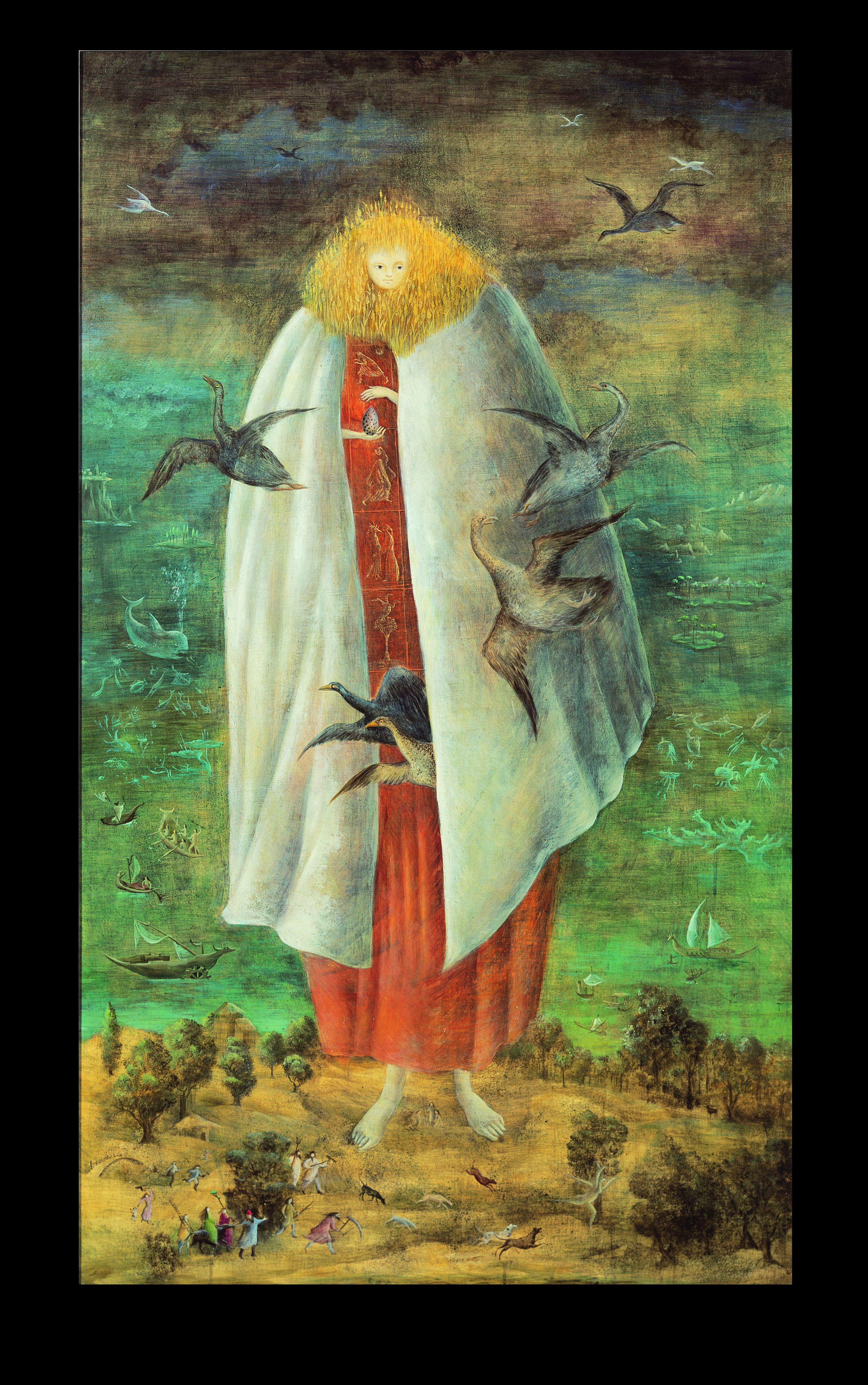 Leonora carrington my search for magic for The carrington