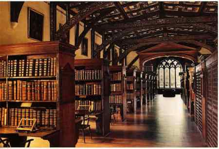 The magical interior of Duke Humfrey's Library, Oxford