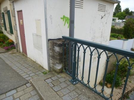 An unpromising corner of the 'Little Bridge', Malestroit