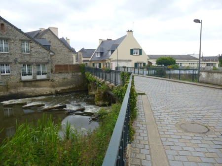 The 'Little Bridge' of Malestroit