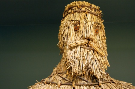 A straw effigy of King Alfred in British Folk Art, Tate Britain