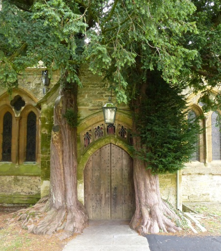 A magical doorway into the church of St Edward's, Stow-on-the-Wold