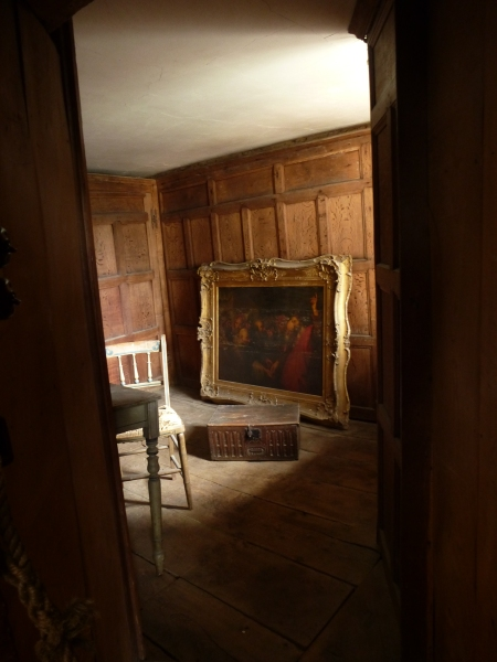 A quiet, magical moment in Chastleton House, Oxfordshire