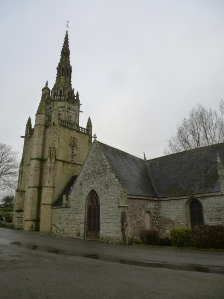 The chapel of St Nicodème, Brittany