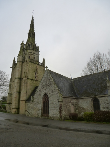 The chapel of St Nicodème, Brittany