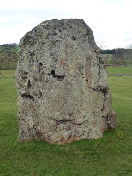 One of the largest megaliths of Stanton Drew, Somerset