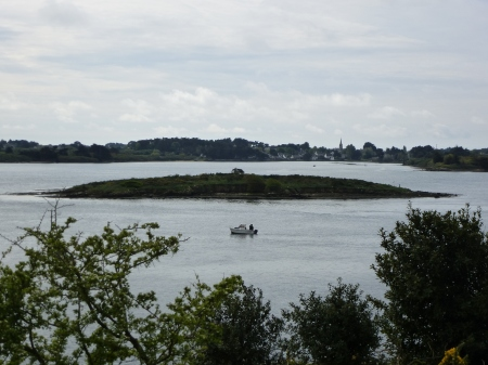 The island of Er Lannic, Morbihan