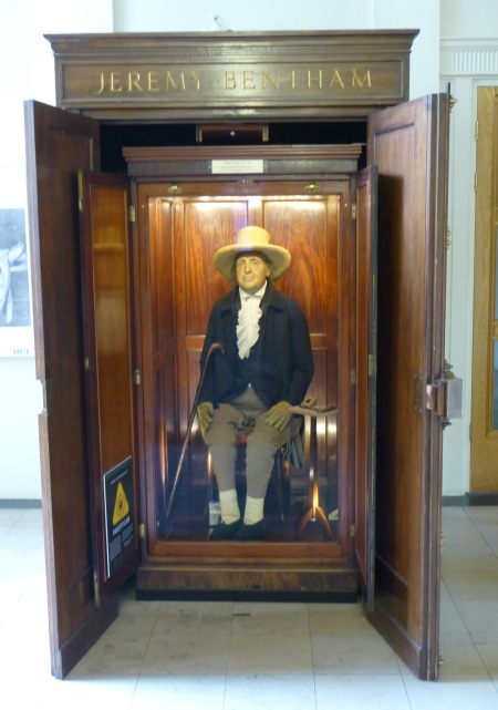 The Jeremy Bentham auto-icon, London