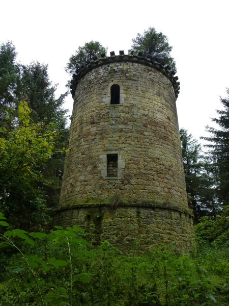 The magical ruin of Knightslaw Tower, Penicuik